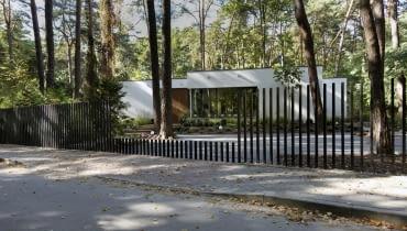 Leśny dom pod Warszawą, projekt: Rubik Architekci