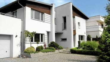 Dom jednorodzinny projektu architekta Janusza Kaczorka