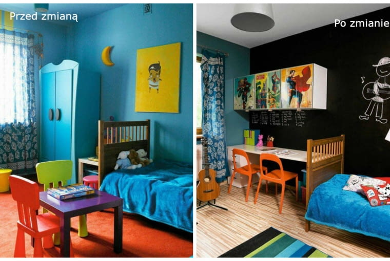 Metamorfoza pokoju dziecka
