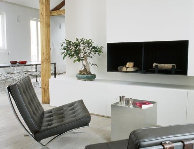 francuski loft, lofty, w męskim stylu, luksus