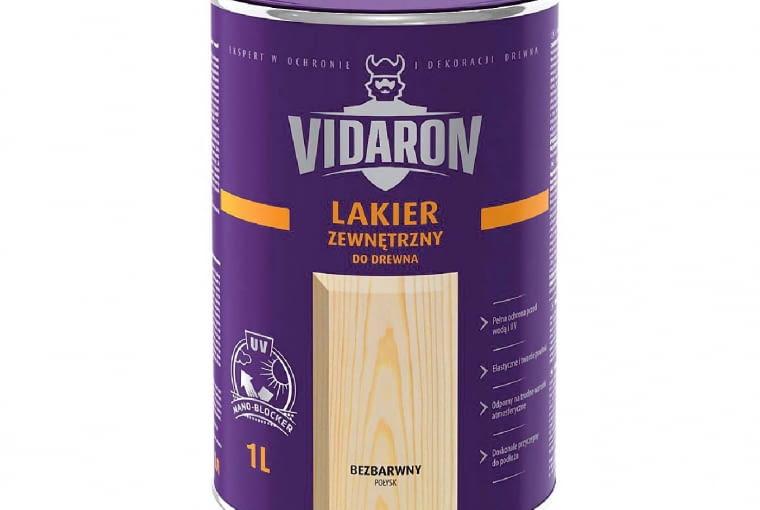 Lakier zewnętrzny/VIDARON | Bezbarwny połysk | i satynowy połysk. Cena: 21,99zł/1l