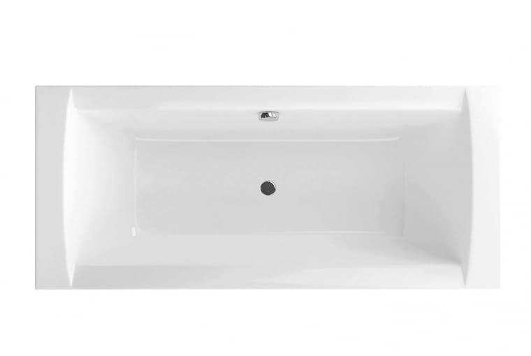 Crown II/EXCELLENT. Wanna z akrylu sanitarnego, ma lekko zaokrąglone kąty i odpływ w centralnym punkcie; wymiary: 1695 x 750 mm. Cena: 1499 zł, www.excellent.com.pl