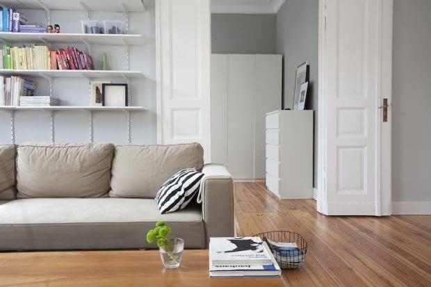 stylowe mieszkanie, skandynawski styl, minimalistyczne wnętrza