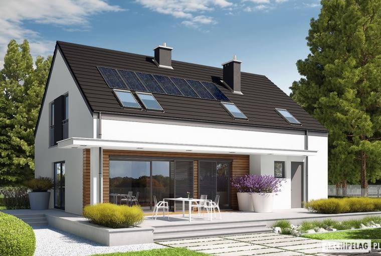 Projekt domu E4 G1 ECONOMIC (wersja A)