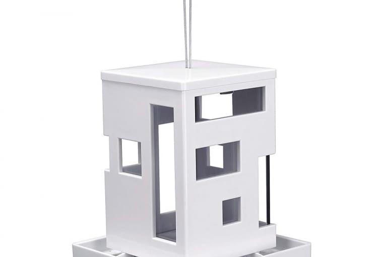 UMBRA BIRD CAFE, szkło i tworzywo sztuczne, 18 x 18 cm, wys. 21 cm, 139 zł, rossi.pl