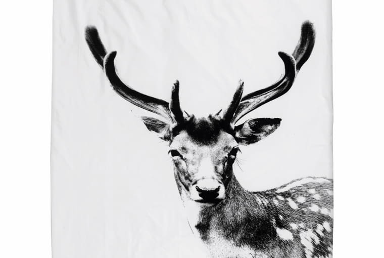 Deer, poszewka z bawełny ekologicznej, By Nord, bynord.com