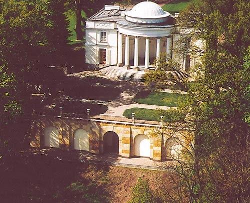 Park Natolin w Warszawie. Pałac