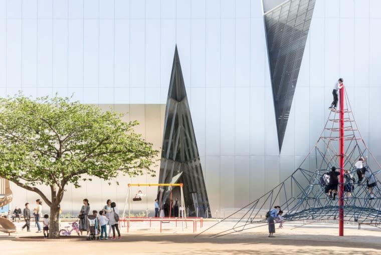 Muzeum Sumida Hokusai w Tokio, projekt: Kazuyo Sejima, Finalista w kategorii: Plener.