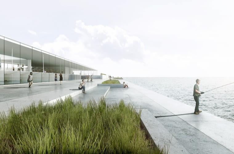 Projekt Oceanarium w Gdyni. Dyplom roku SARP 2015.