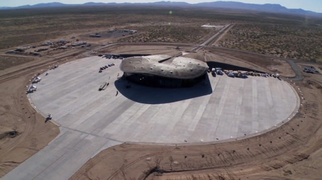 Spaceport America, Nowy Meksyk, USA, proj. Foster Partners