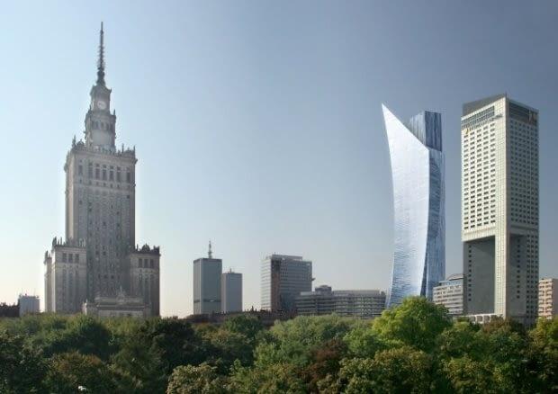 Złota 44, Warszawa, proj. Daniel Libeskind