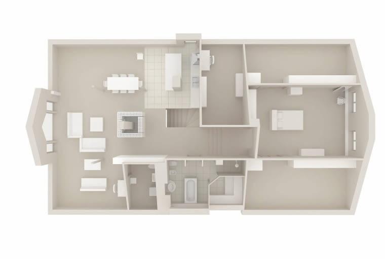 plan mieszkania, projekt mieszkania