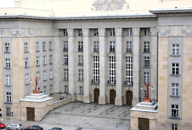 Katowice, budynek, modernizm, Śląsk, architektura, największe, Polska, publiczne