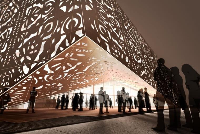 Pawilon Polski na Expo 2010 w Szanghaju za projektowany przez zespół: Wojciech Kakowski, Marcin Mostafa oraz Natalia Paszkowska - wizualizacje