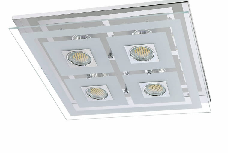 oświetlenie łazienki, ZOE, plafon, Leroy Merlin