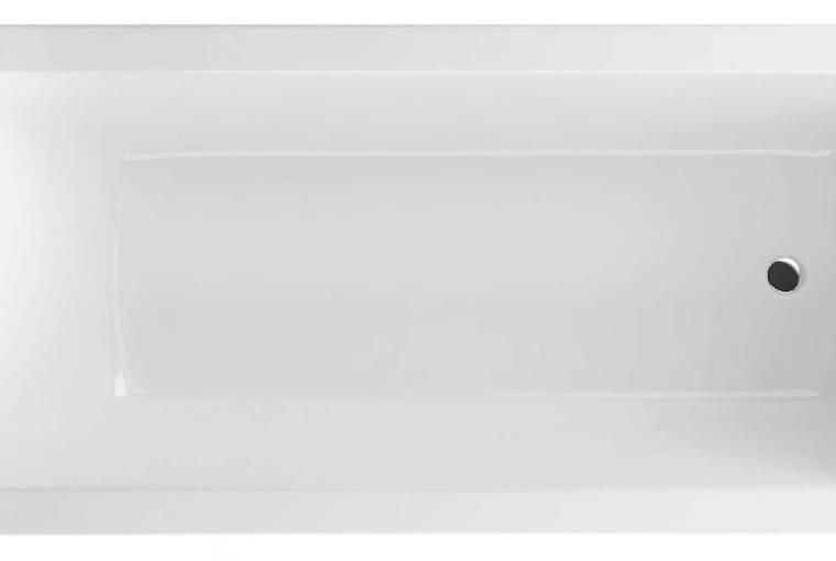 Aquaria/EXCELLENT. Wanna z akrylu sanitarnego z mocno zarysowanymi krawędziami; wymiary: 1700 x 750 mm. Cena: 1124 zł, www.excellent.com.pl