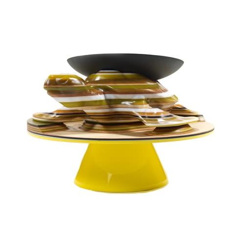 stół Turtle; projekt: Hella Jogerius dla Galerie Kreo