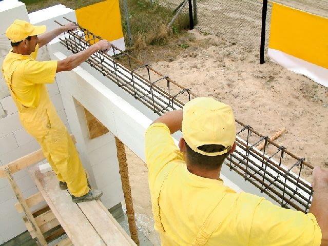 nadproża,budowa domu,beton komórkowy