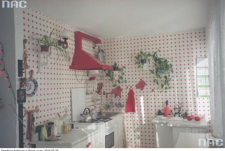 kuchnia z końca lat 90.