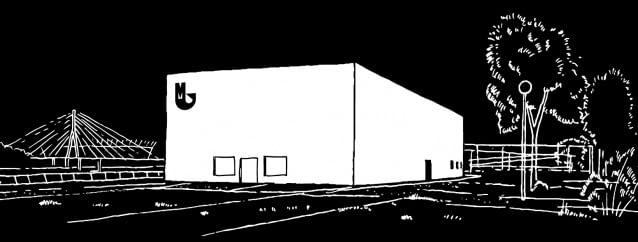 Otwarcie siedziby Muzeum Sztuki Nowoczesnej nad Wisłą - plakat