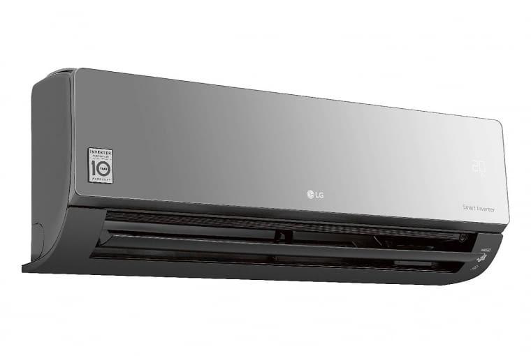 ARTCOOL STYLIST G09WL, klasa A+, z systemem grzewczym, wydajność 2,5 kW, 6100 zł, LG