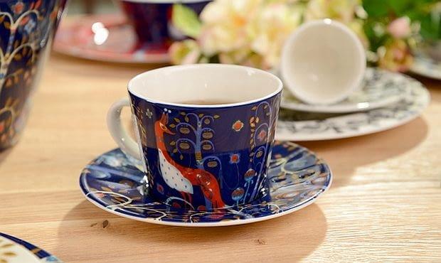 filiżanki do kawy, porcelana serwis