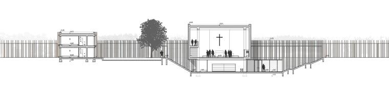 Wyższe Seminarium Duchowne - okres propedeutyczny w Lublinie - przekrój