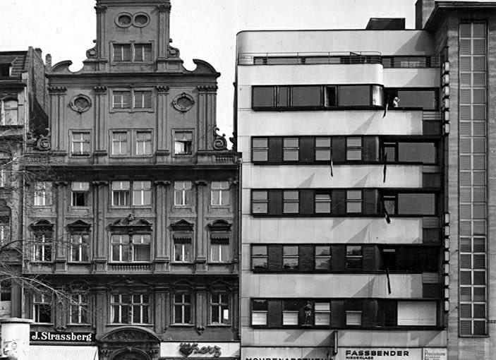 Apteka 'Pod Murzynem' Wrocław, budynek apteki po przebudowie z roku 1928, projekt Adolf Rading