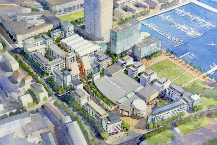 Wizualizacja projektu Gdynia Waterfront