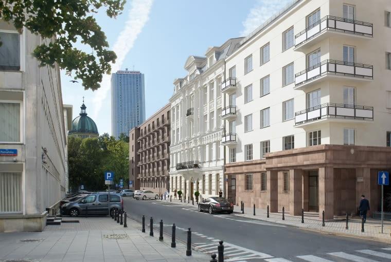 Projekt odnowy kamienicy przy ul. Świętej Barbary 4 w Warszawie