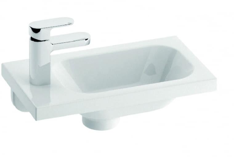 CHROME, umywalka montowana na szafce, 40 x 22 cm 369 zł Ravak