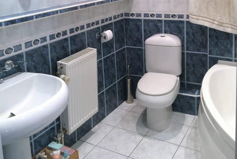 Łazienka przed metamorfozą