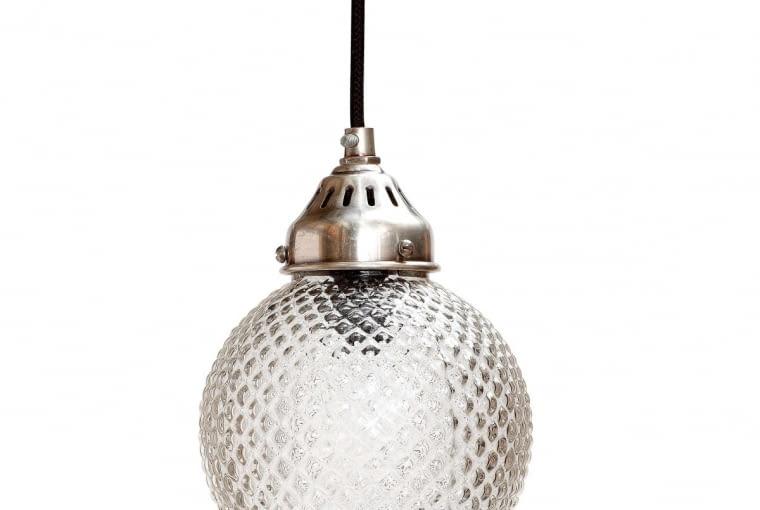 W stylu tego wnętrza: Lampa wisząca, szkło, 300 zł, nshome.pl