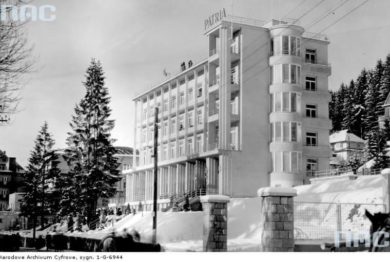 krynica, patria, sanatorium, kiepura