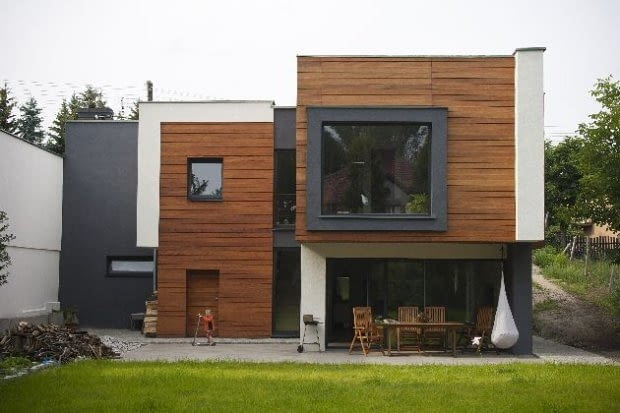 domy realizacje, domy zdjęcia, dom jednorodzinny,nowoczesny dom