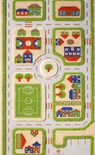Interaktywny dywan, design, pokój dziecięcy, zabawa