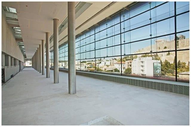 New Acropolis Museum w Atenach, proj Bernard Tschumi Architects