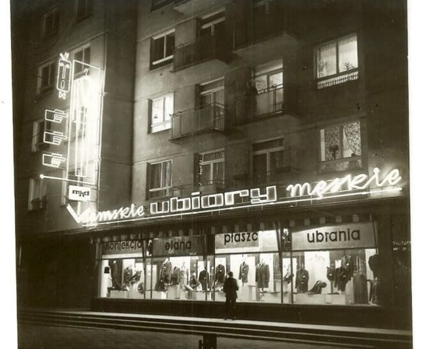 Fotografie neonów z lat 60. i 70.