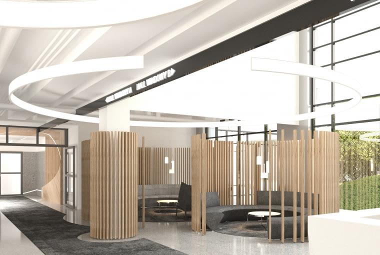HOL 7.7 - wejście. Proj. Grupa Plus Architekci