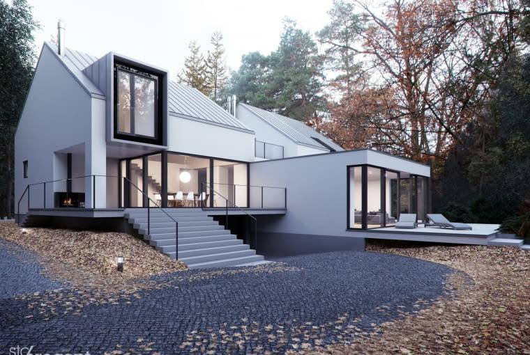 Projekt przebudowy domu z Zalesia Górnego