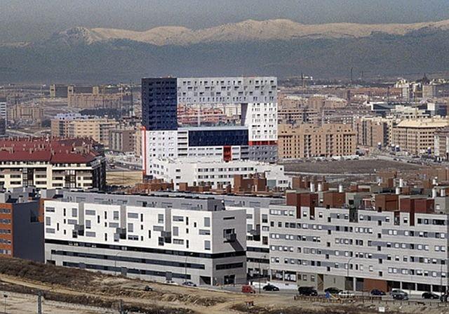 Apartamentowiec Mirador w Madrycie, proj. MVRDV