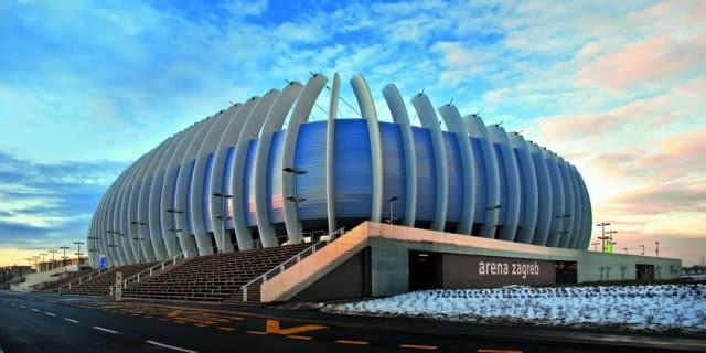 Arena Zagrzeb, Chorwacja, 2008, proj. UPI-2M
