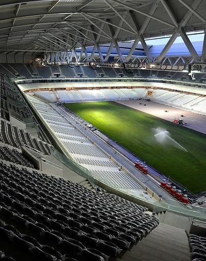 Stadion im. Pierre-Mauroy we francuskim Lille