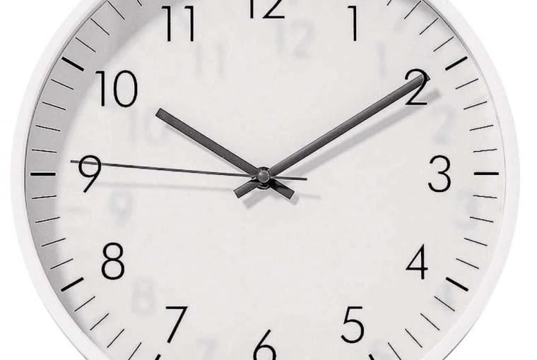 W stylu tego wnętrza: Zegar, tworzywo sztuczne, śr. 30 cm, 69 zł, dekoracjadomu.pl