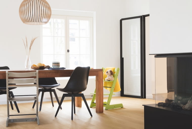 Skandynawski minimalizm w mieszkaniu znanego kolarza