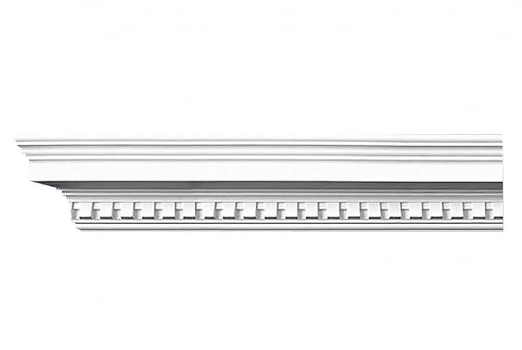 Listwa sufitowa, poliuretan, dł. 235 cm, szer. 11,5 cm 132 zł/m, decorsystem.com.pl