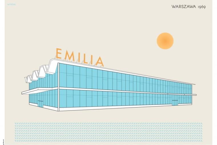 Plakat Emilia