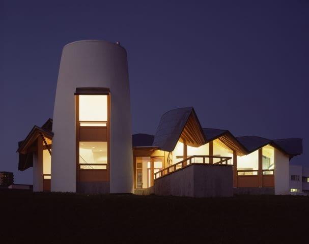 projekt, wielka brytania, architekt, budynek, gehry, dundee, szkocja