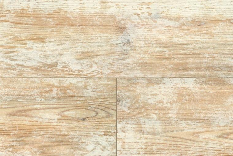Marena Live/Wineo Klasa ścieralności: AC4 grubość: 8 mm pełna deska; dekor Swedish Pine struktura powierzchni: jedwabisto-matowa łączenie na click. Cena: 85,90 zł/m2, www.wineo-polska.pl