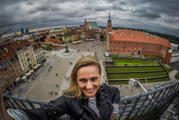 Zdjęcia w ramach #WarsawInstaFestival można zobaczyć na stacji Metro Wilanowska